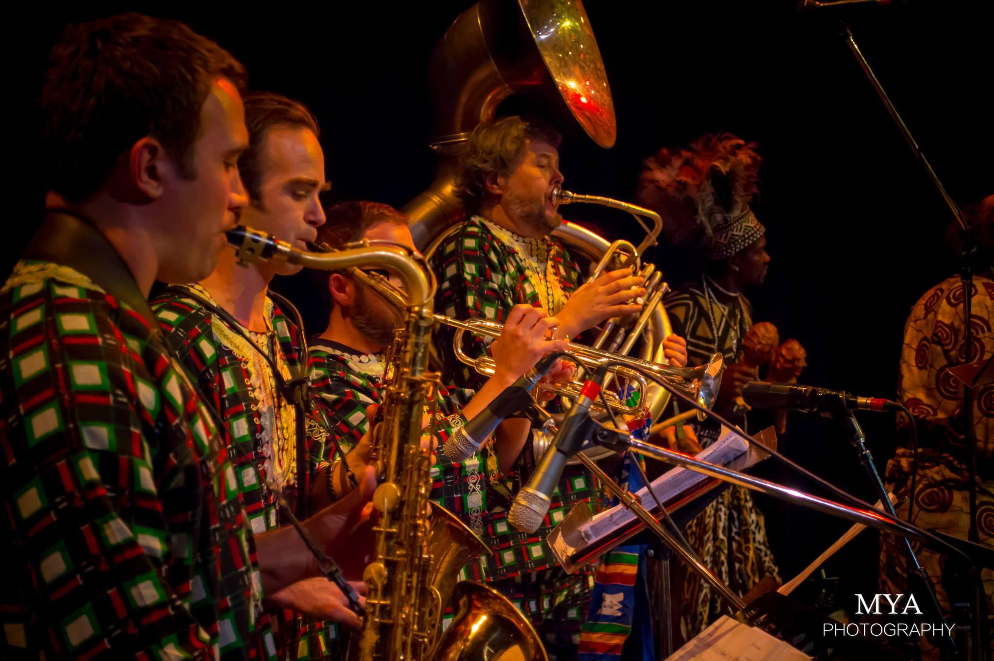 Adano Habobo horn section 2014