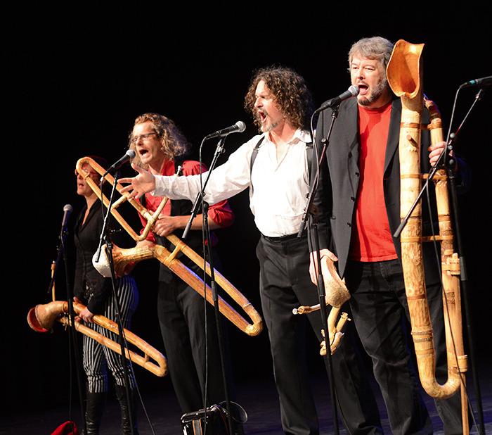 Legion of Flying Monkeys (LFM) Horn Orchestra front line 2014