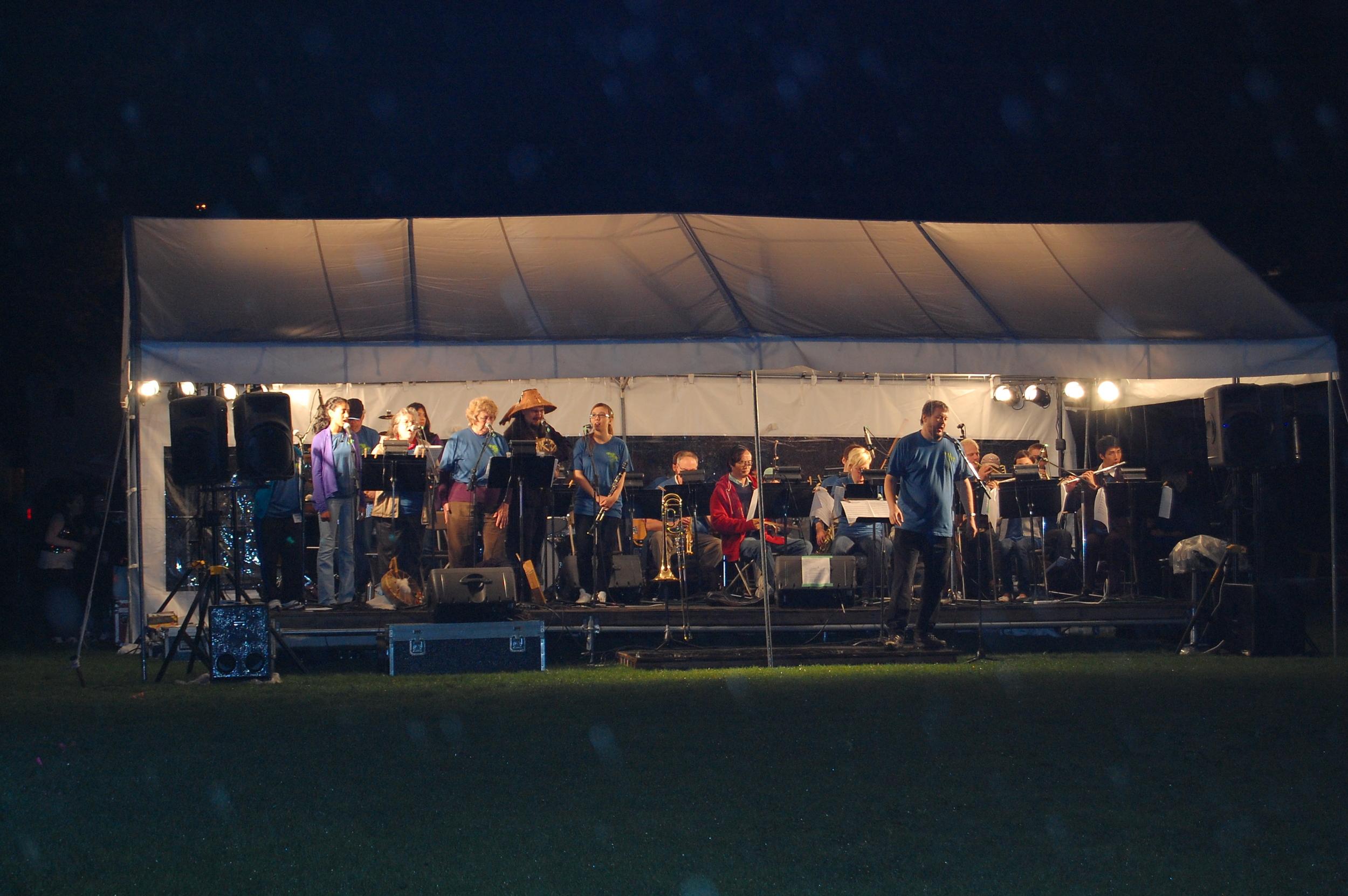 RCPP Orchestra @ Renfrew Ravine Moon Festival 2009