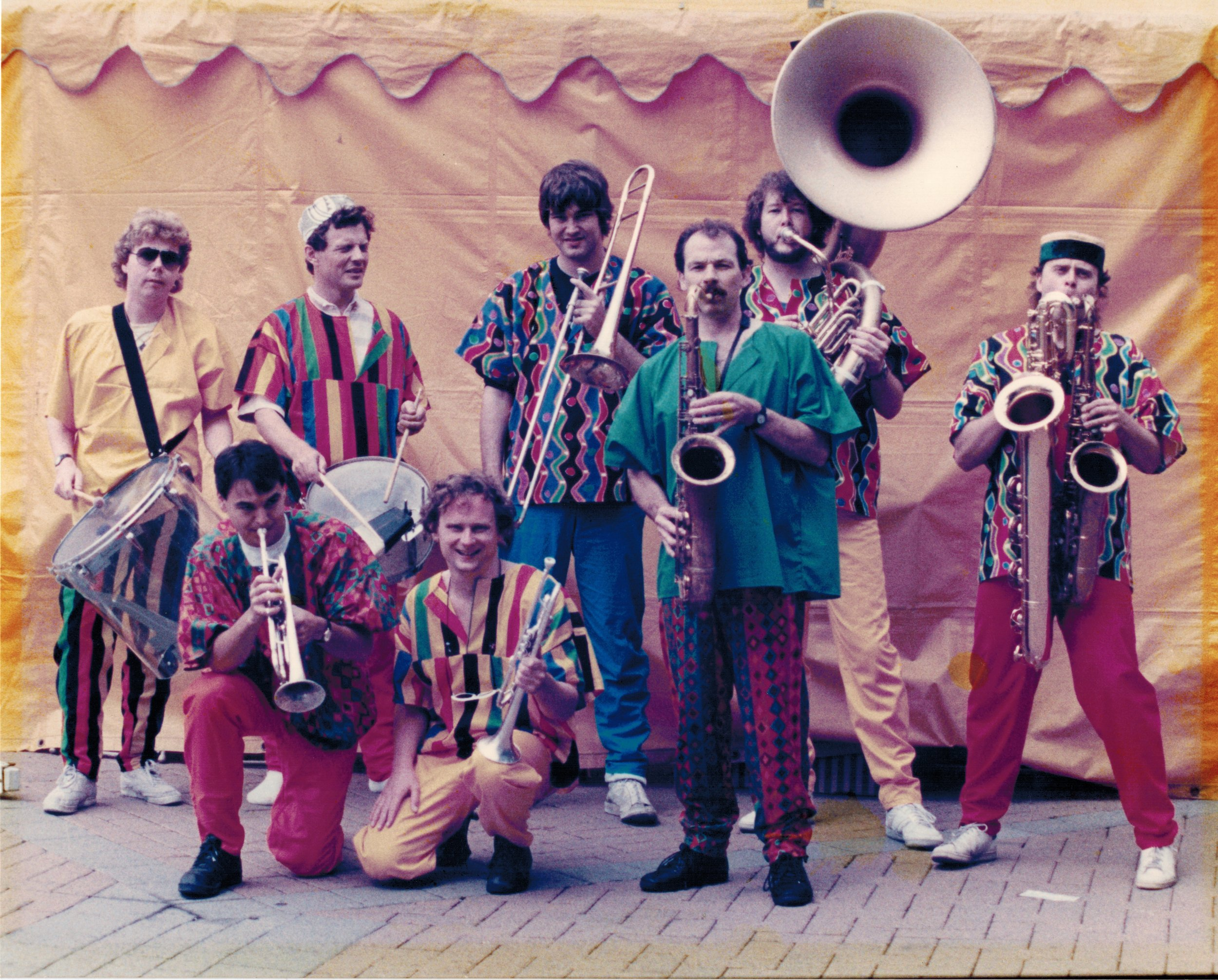 BRASS ROOTS in parade garb 1989