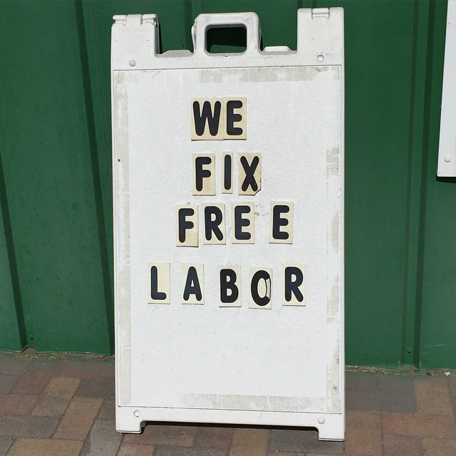"People frequently ask me, ""How do you compete with stores offering FREE LABOR?"" The answer is simple. The labor isn't free. The stores promoting free or discounted labor simply overcharge for pad, carpet or overestimate square footage. If the labor really is FREE then their total cost per yard should be at least $4.00 a yard less than ours. Get a price quote from them and then come see how much FREE LABOR is costing you. #simmonsfloors #takethesimmonschallenge #wevegotyourback"