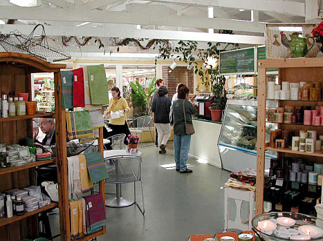 In the 1990s, a very popular cafe and gift shop were added.