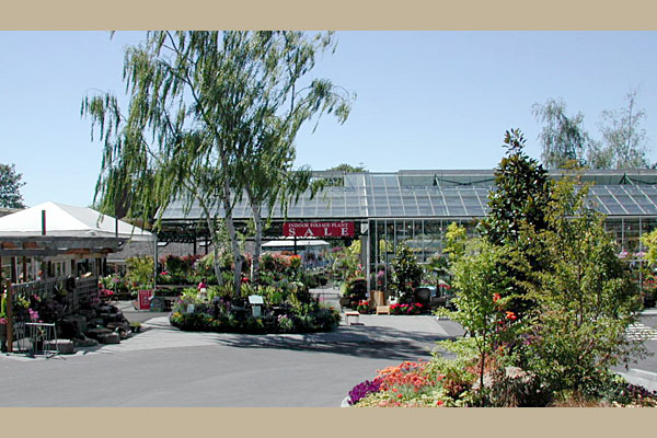 Starting in 2001, construction began on a series of European greenhouses.