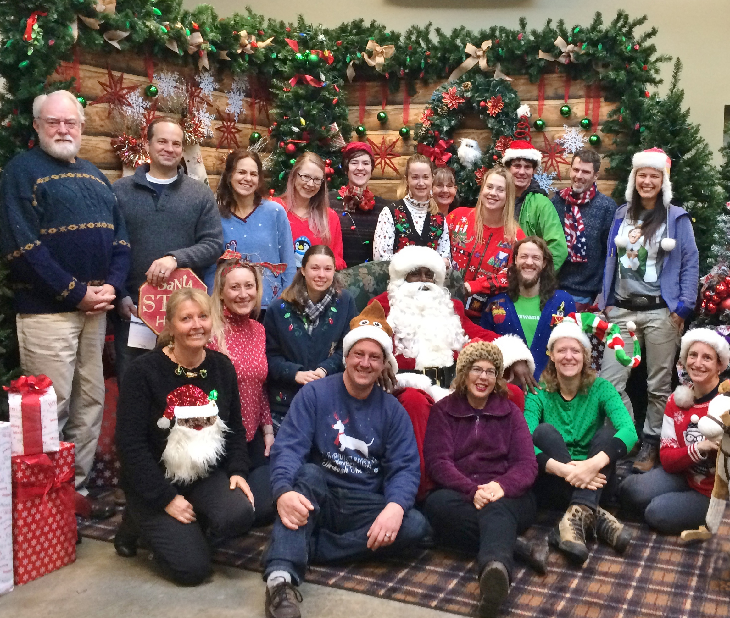 2017 Ugly Christmas Sweater Contest