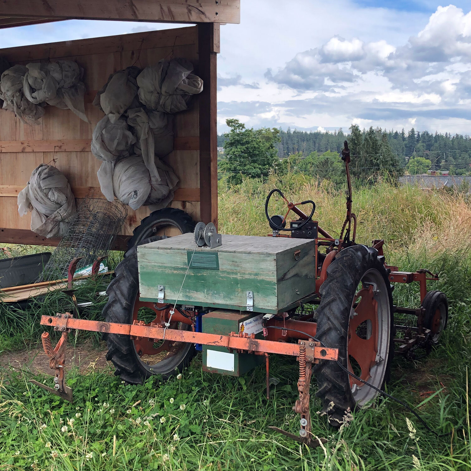Tractor and supplies