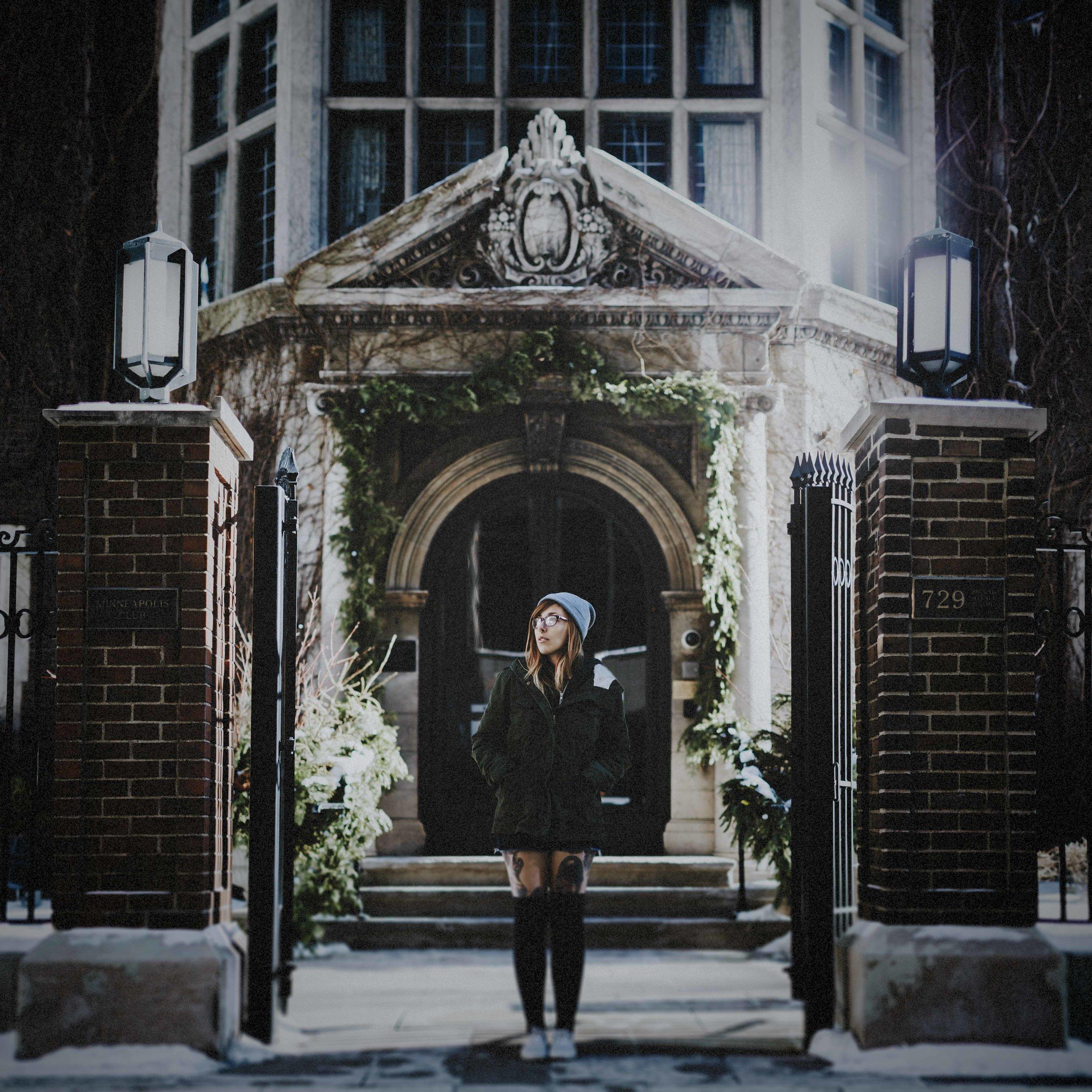 58. (Week 83) Ashley Shelton |Bleak | Minneapolis MN [January 2017]-b&w.jpg