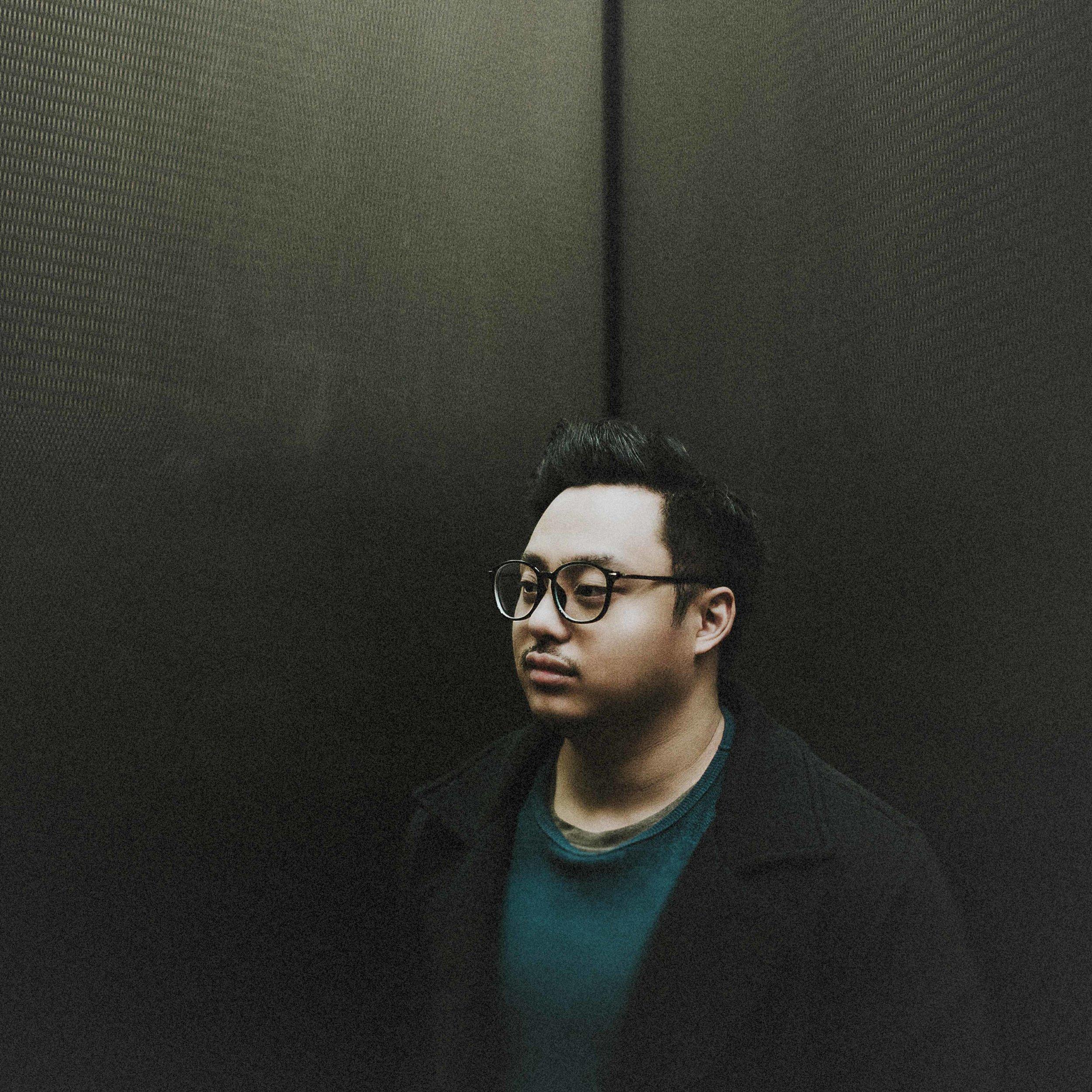 59. (Week 84) Jeff Shiu |Elevated | Minneapolis MN [January 2017]-b&w.jpg