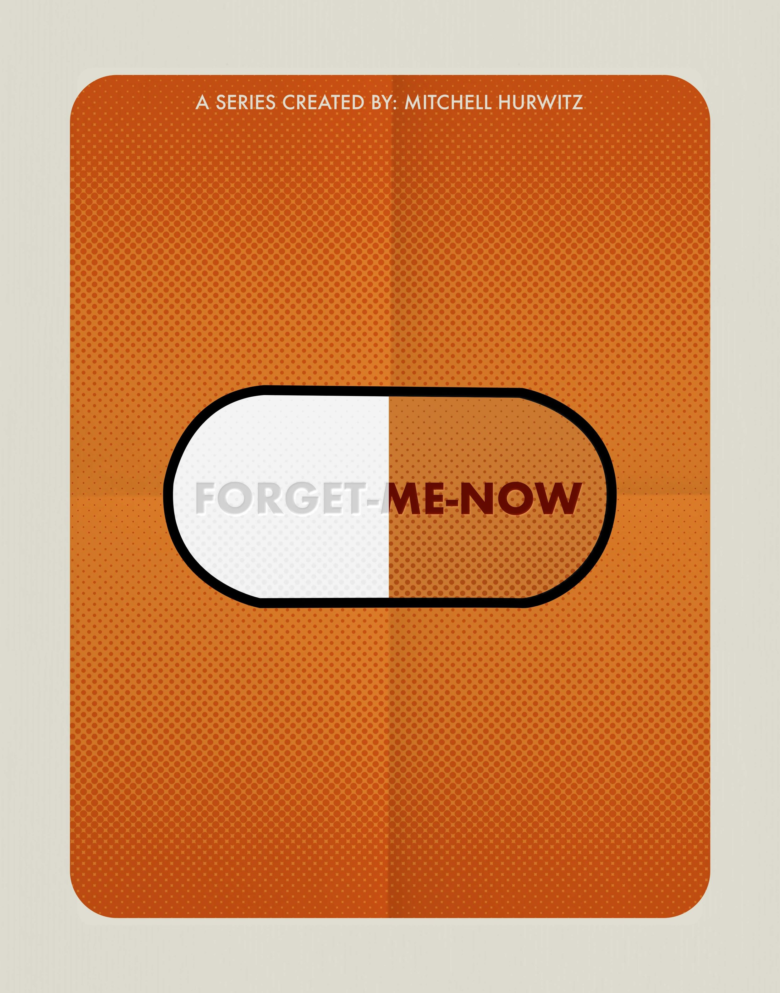 34. Arrested Development | Forget Me Now | 11x14 poster-b&w.jpg