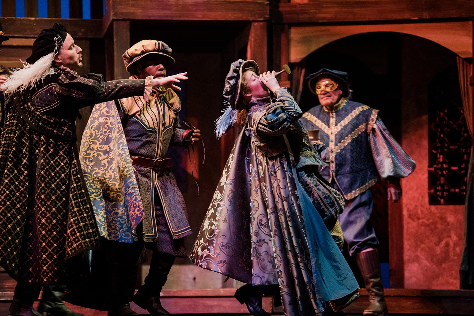 Roméo et Juliette Pensacola Opera Directed by Scott Skiba Photo by Meg Burke Photography
