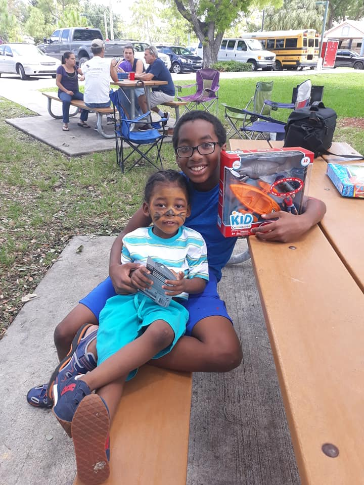 Pancakes in the Park in Boca Raton