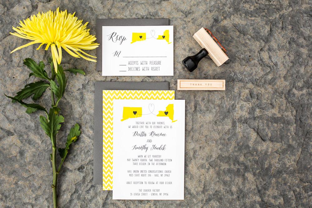 Hello World Paper Co.  |  Wedding Invitations