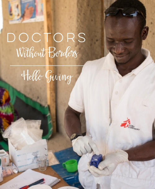 Photo Credit: Doctors Without Borders