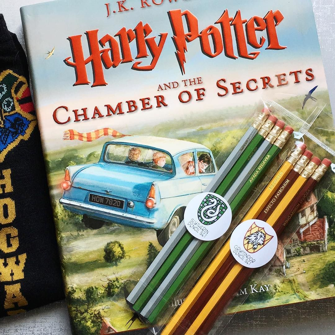Harry Potter House Spell Pencils by Hello World Paper Co.