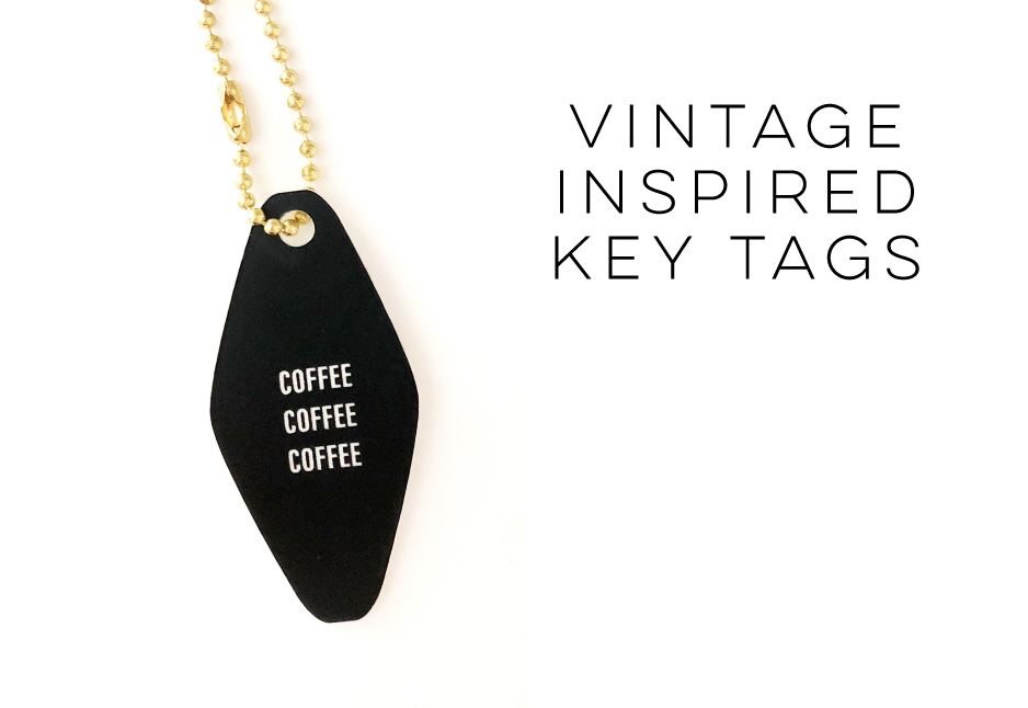 Vintage Inspired Key Tags by Hello World Paper Co.