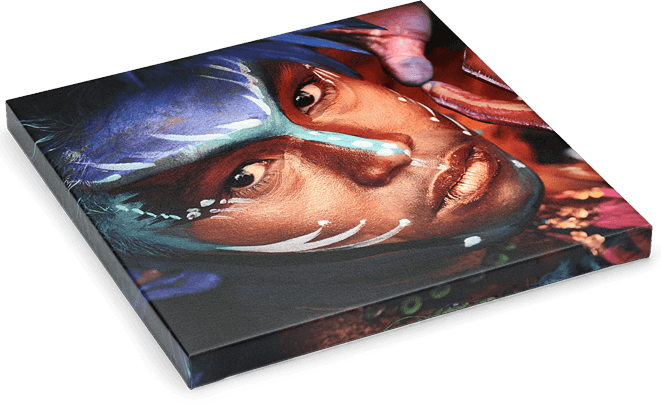 Fine Art Canvas Wrap - Fine Art Canvas Wraps are printed directly onto museum-quality canvas material using high-quality archival inks. Your choice of Glossy or Lustre Laminate is applied to each piece to protect the surface of the print.