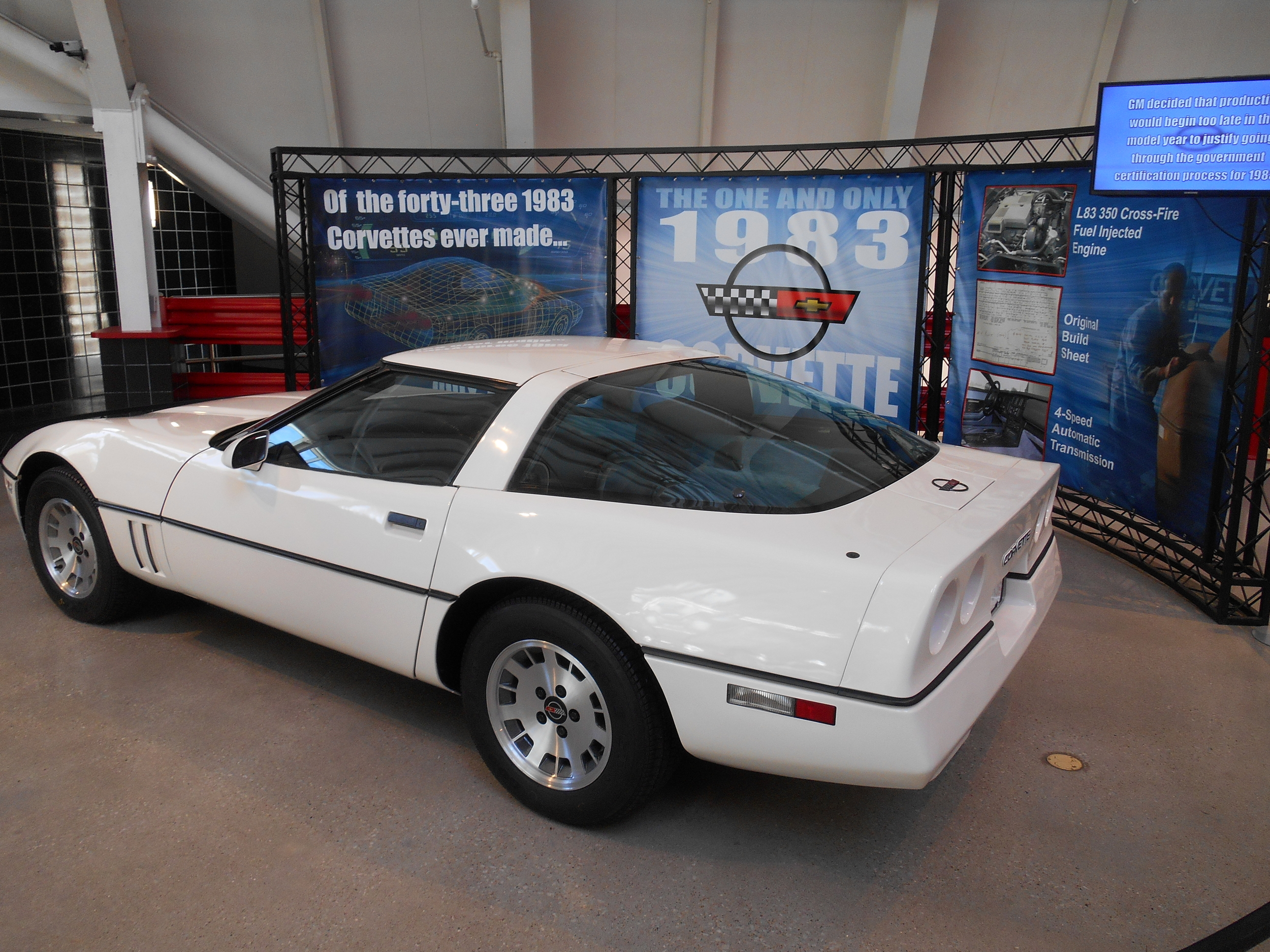 The only '83 Corvette in existence.