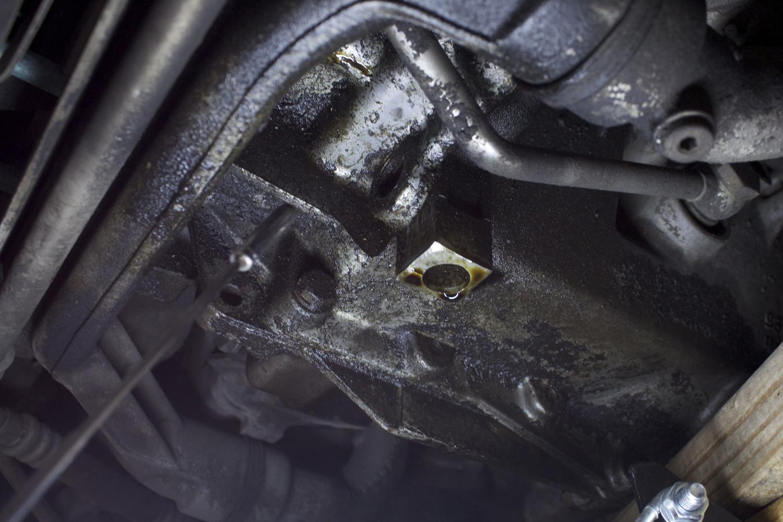 Twin Turbo leak source