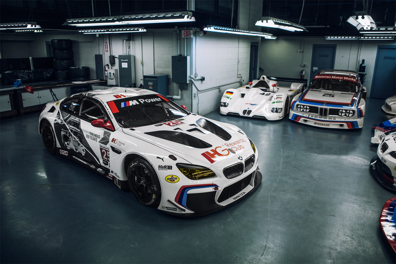 BMW 100 Year Race Car Livery