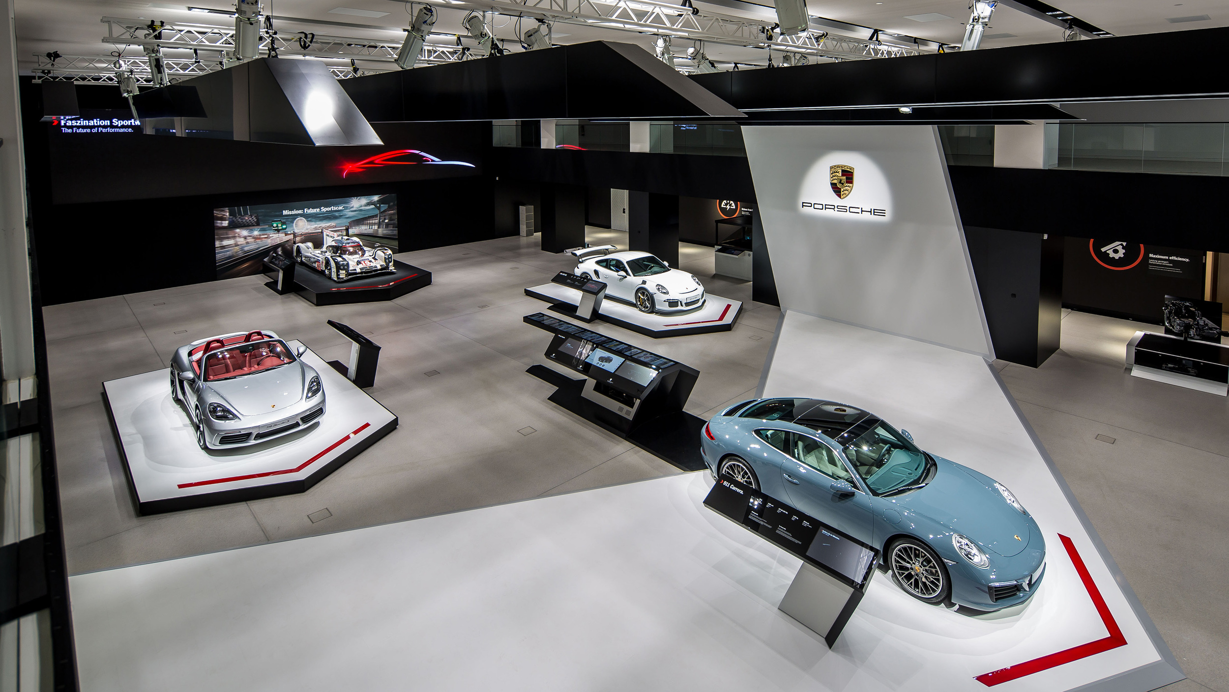 Porsche Fascination Car Exhibit