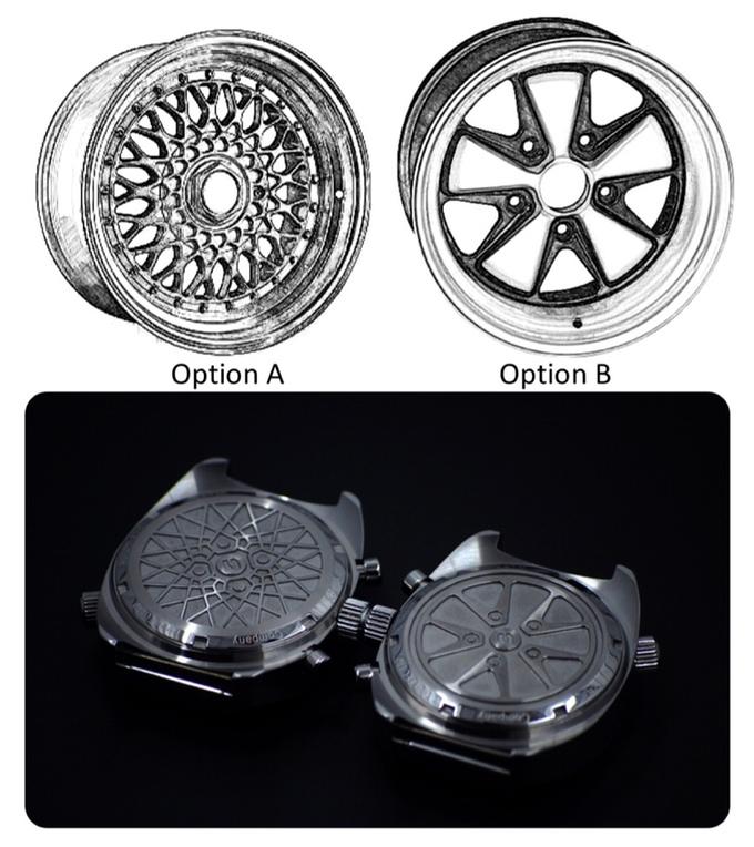 Straton Watch Co. Backing