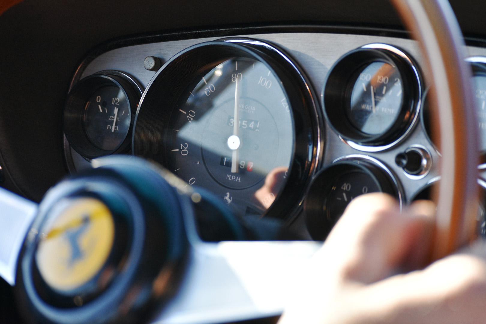 Cruising speed.