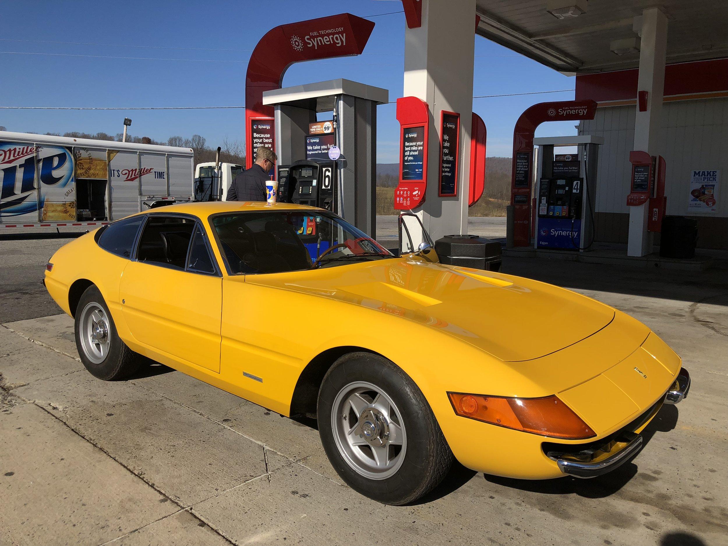 Fuel stop #2.