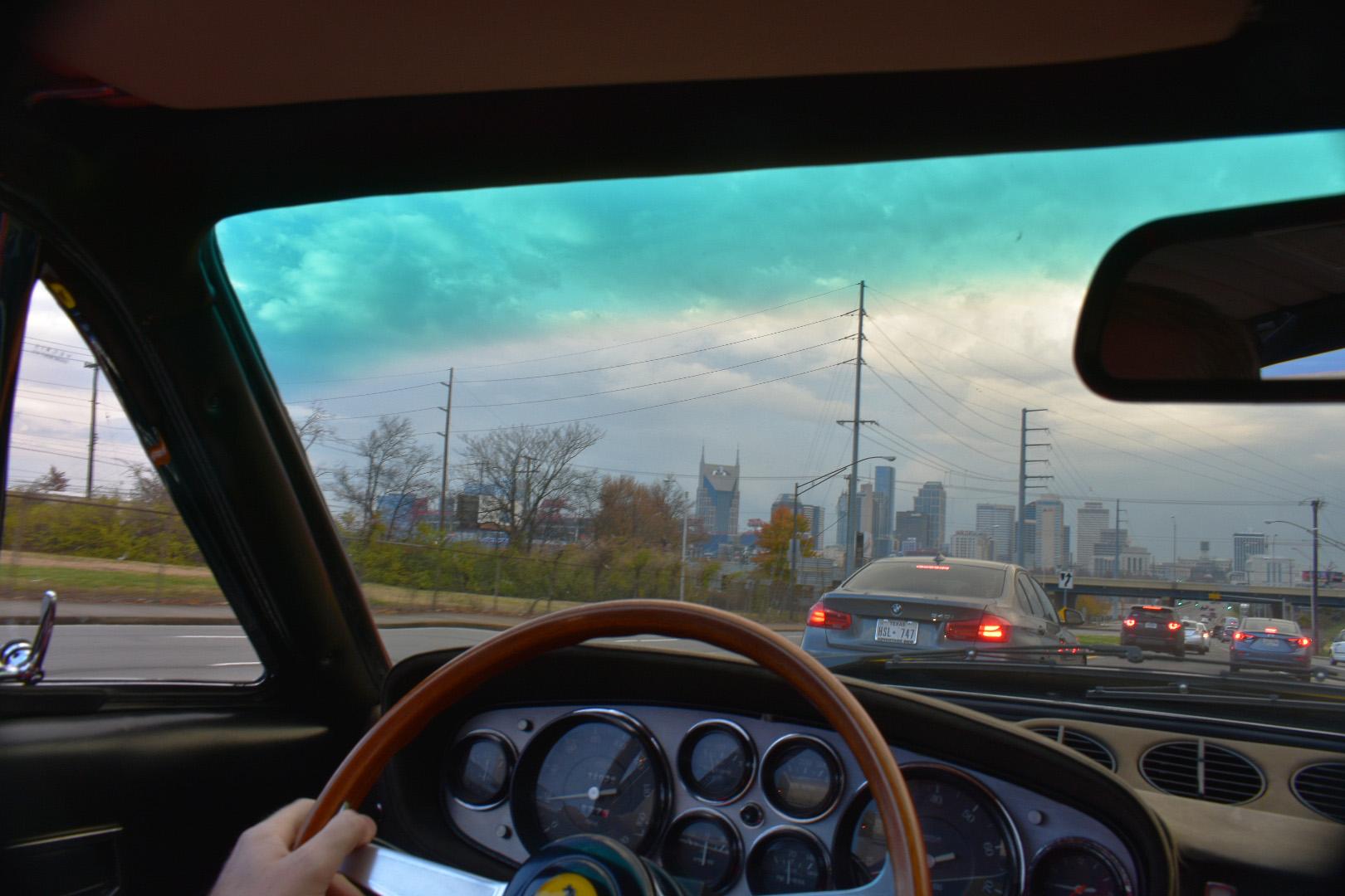 Nashville in the morning. Looks like rain.