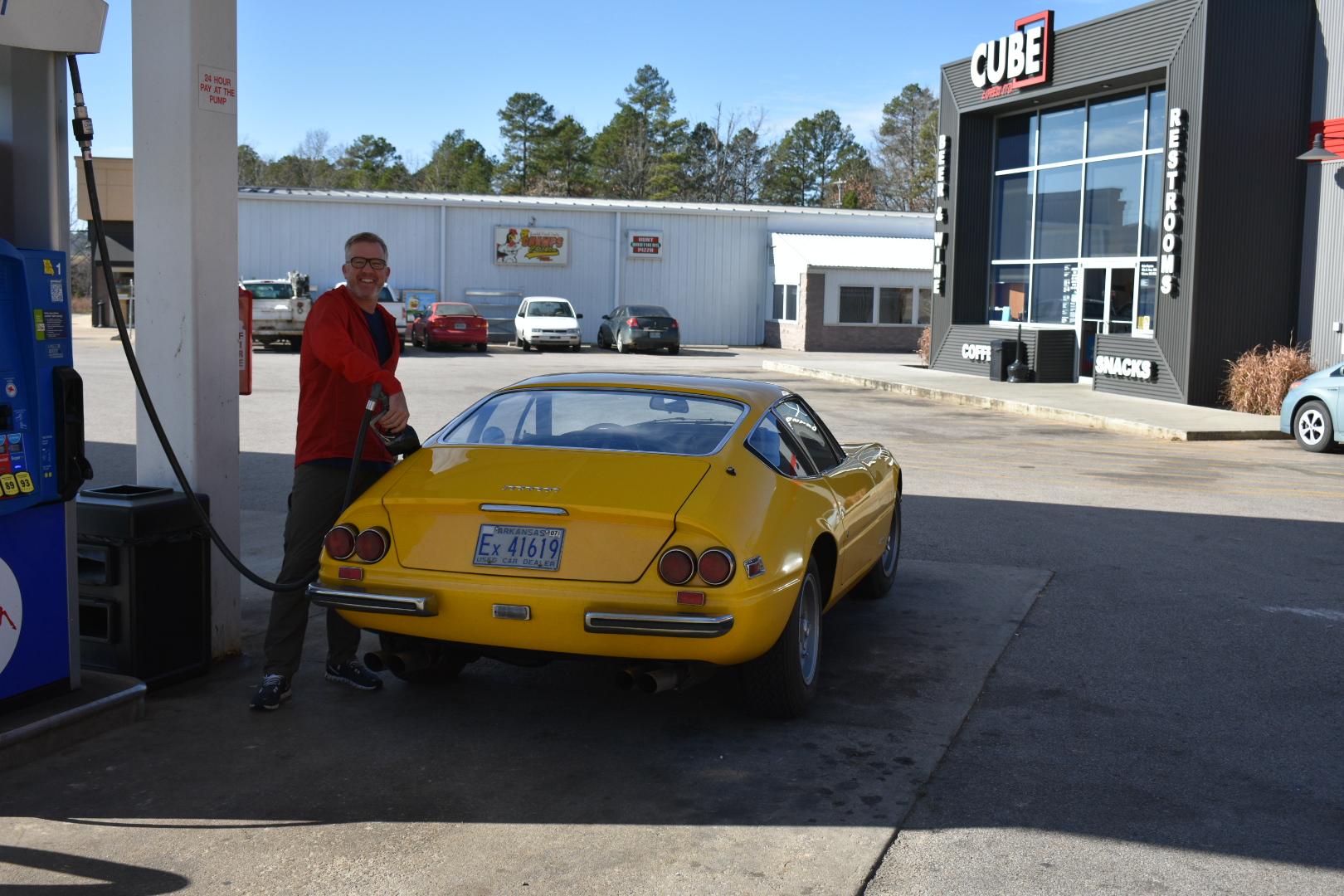 Fuel stop #4. Somewhere in Missouri.