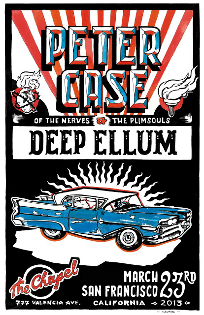 Concert Poster for Peter Case