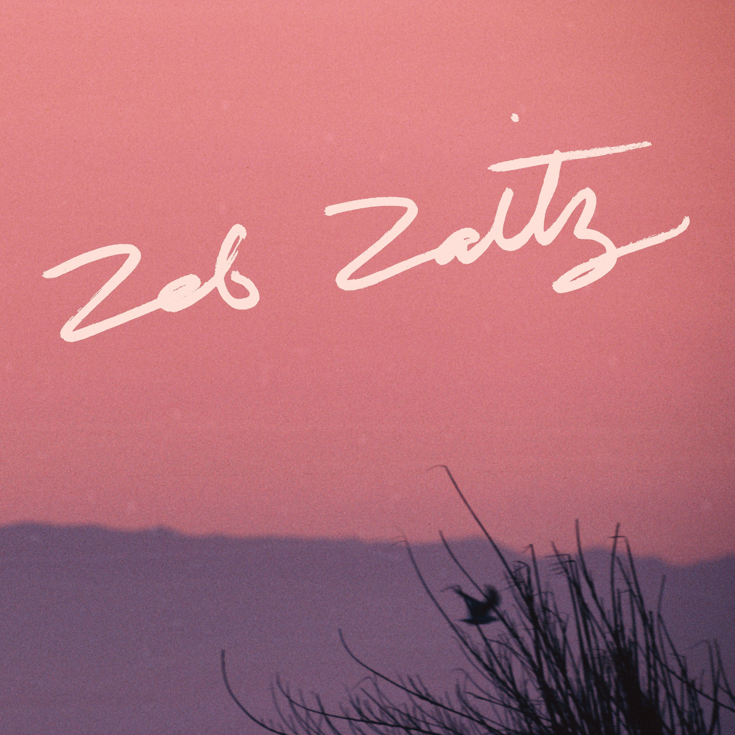 Hand-Lettered Album Title for Zeb Zaitz (Royal Oakie)