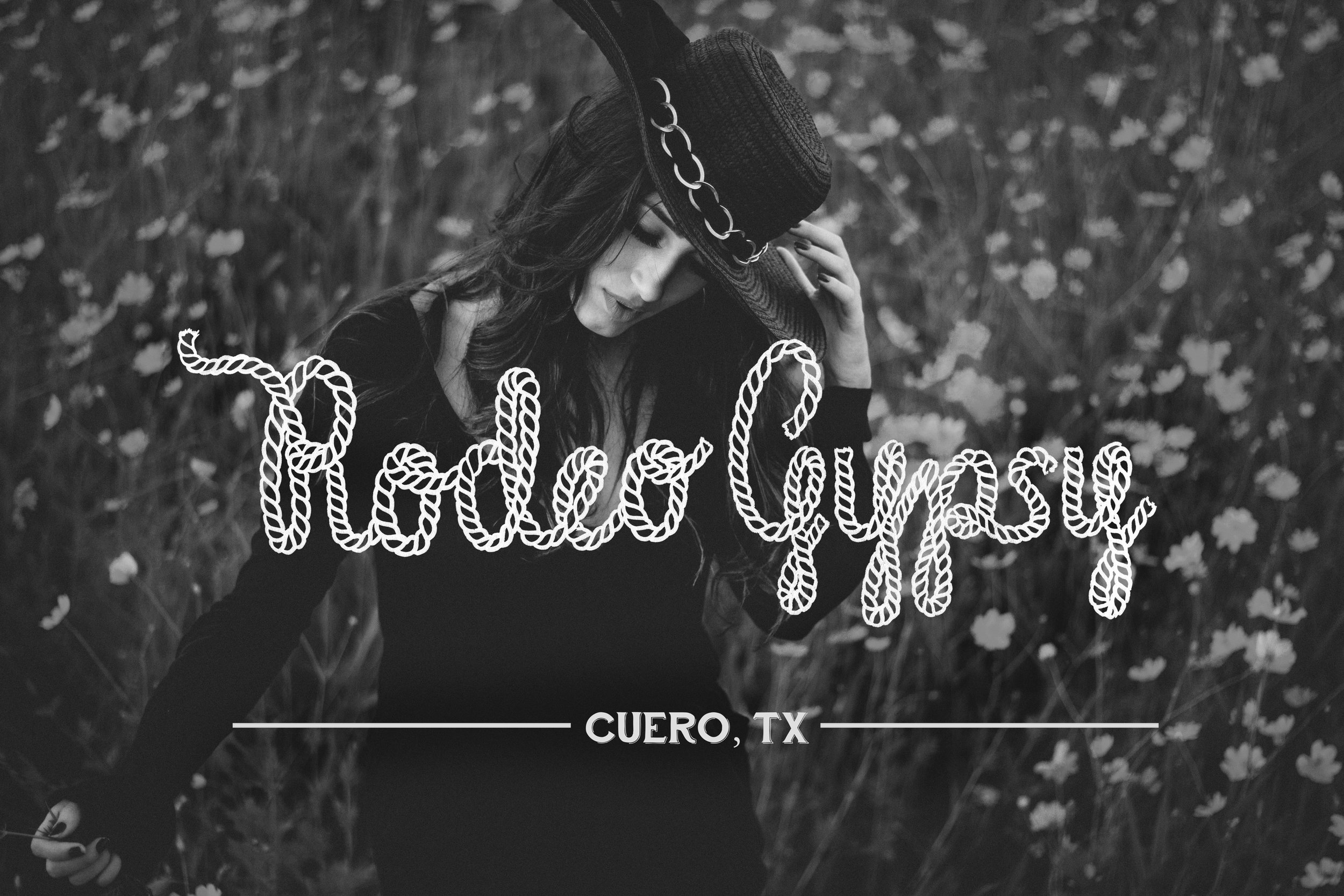 Hand-Lettered Logo for Rodeo Gypsy