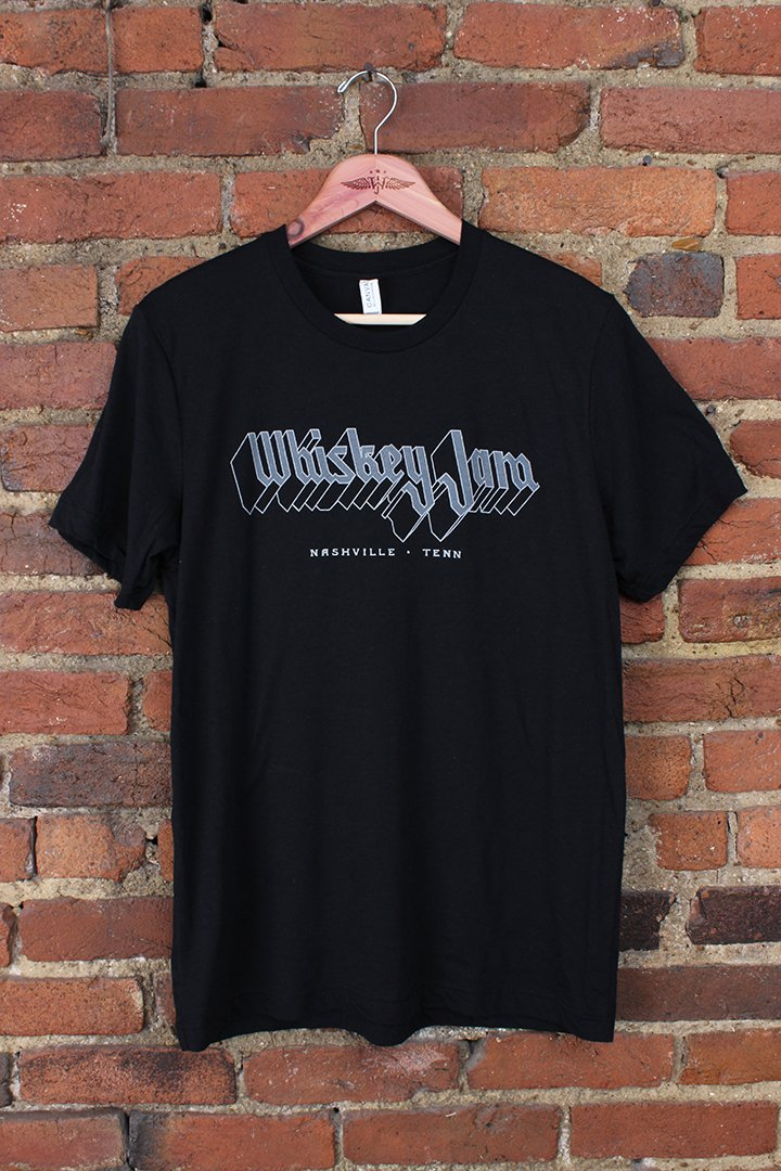 Hand-Illustrated Shirt Graphic for Whiskey Jam