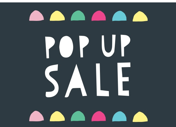 What is Pop-up Sale?