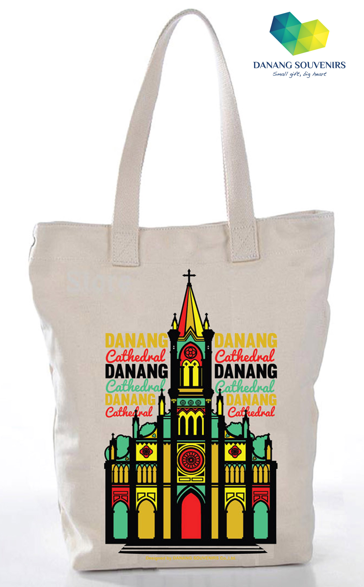 Danang Cathedral  120 000 VND  32 x 40 cm