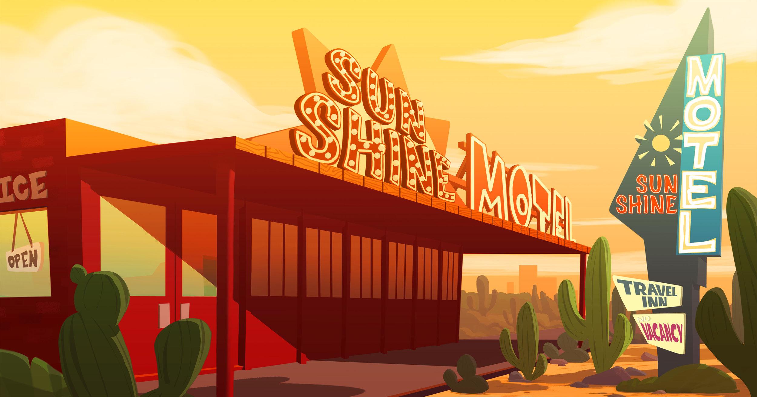 Vegas Theme - Sun Shine Motel