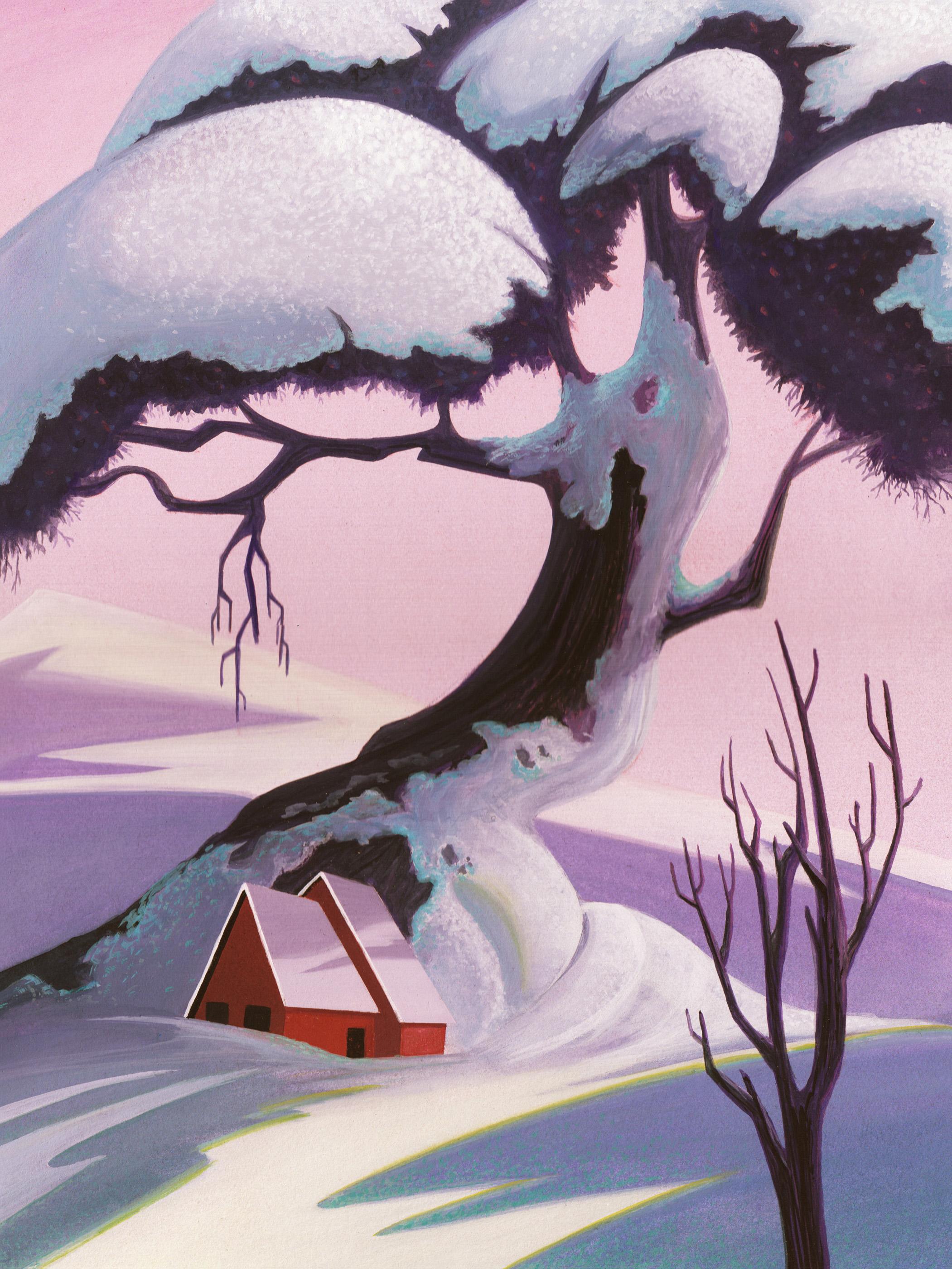 Ivan Earle Inspired Tree