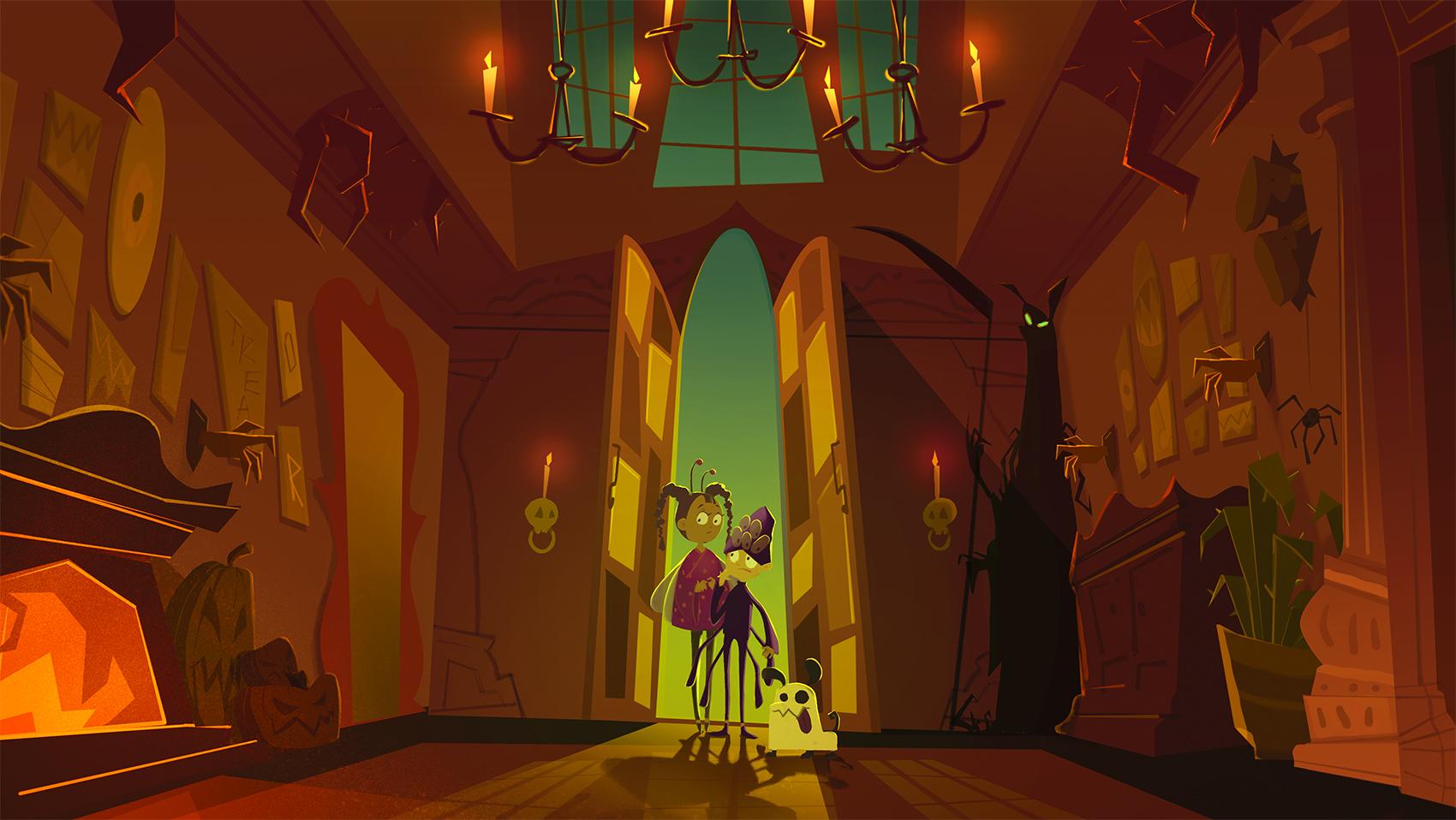 "Halloween - interior shot ""Journey Stat!"""