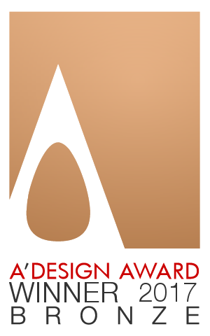 Bronze Winner A'Design Award 2017