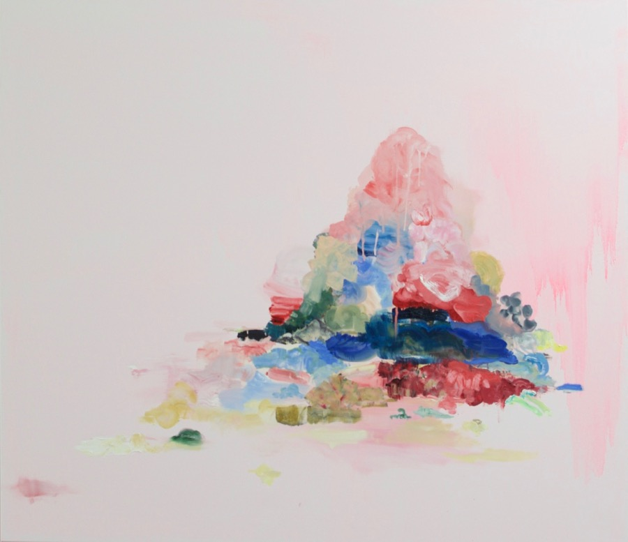 Pile, 2017, oil on canvas, 140 x 160 cm