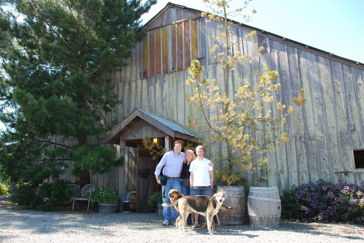 Our First Winery! (2008)
