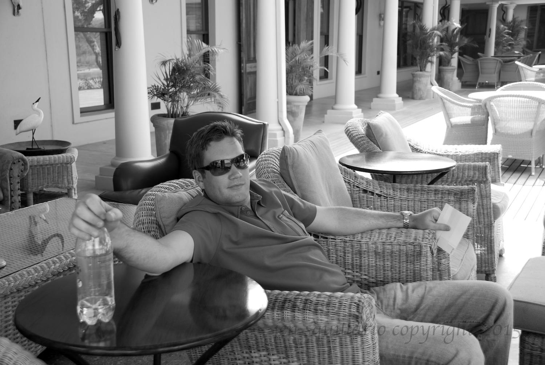 Ian at MalaMala in 2008