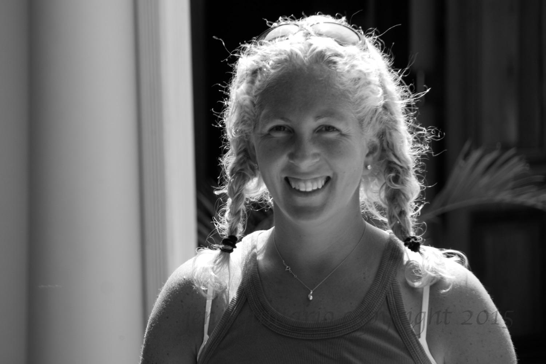 Jen at MalaMala in 2008