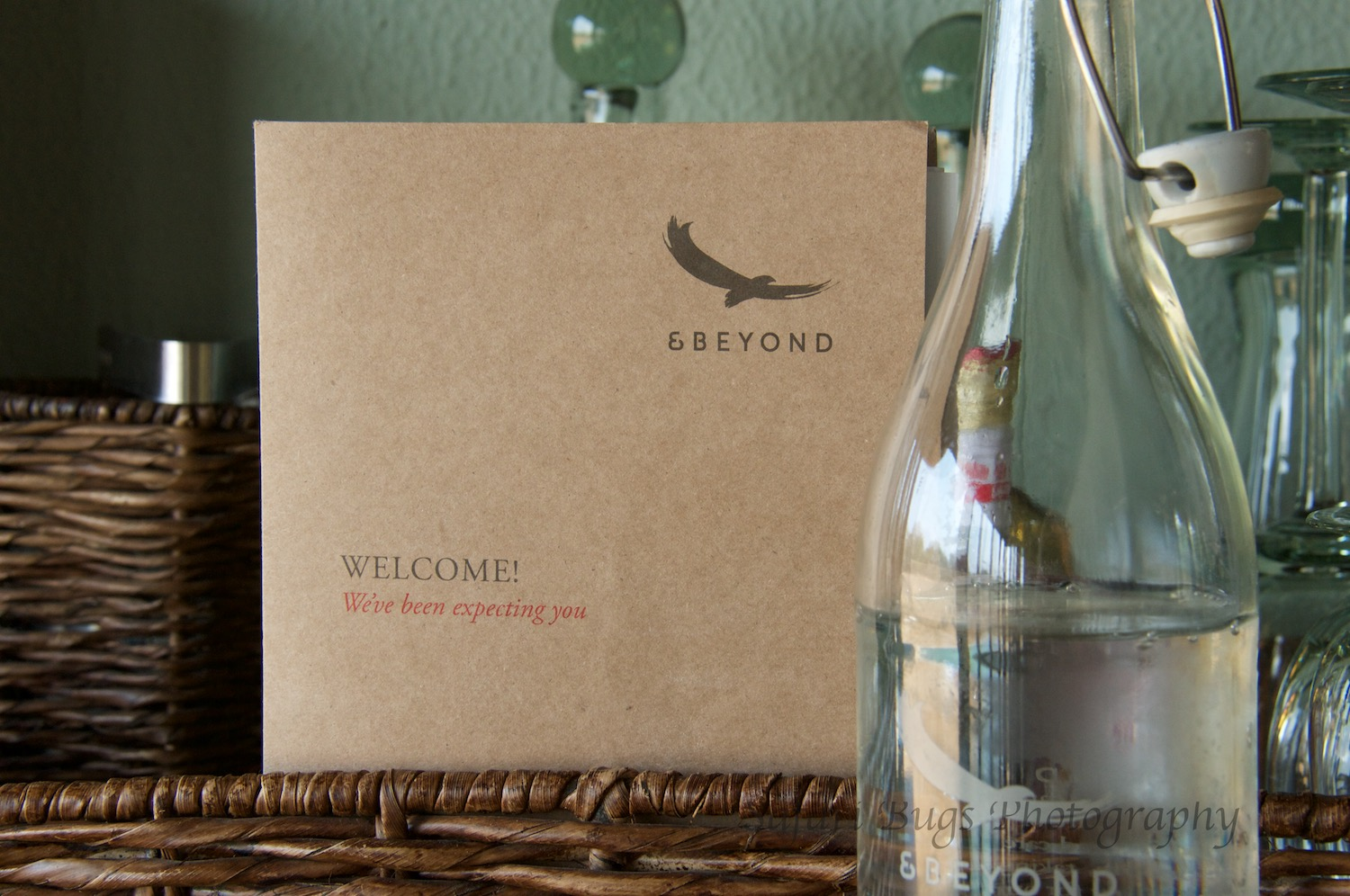 Our welcome package.
