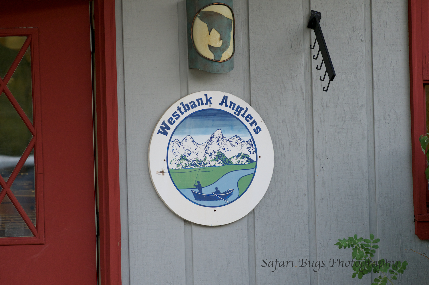 First stop, Westbank Anglers; shop near Teton Village to get our fishing license and to meet our guide.
