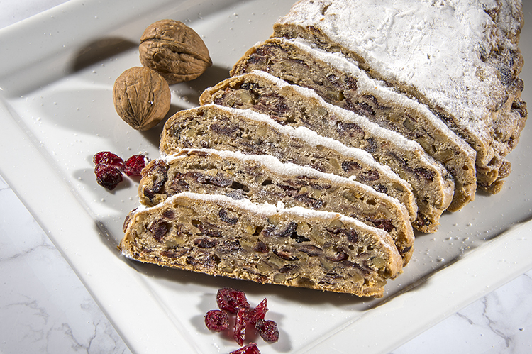 We're thrilled to offer our delicious Stollen online!  Head over to our shop  and use promo FALL10 to receive 10% your entire purchase!