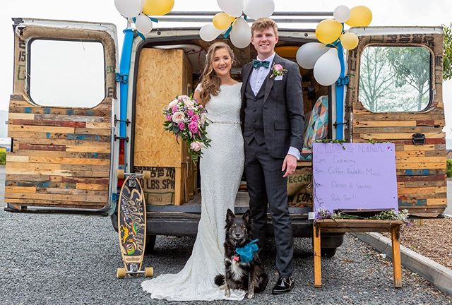 Time flys when your having fun, @clairec_ and I got married almost a month ago now, and it feels like it was last week, where has the time gone?! . . . 📸 @ianpedlowphotography_ni  #wedding #marriedlife #vanlife #livetheadventure #dogsofinstagram #vanlifers #vanconversion #puppy