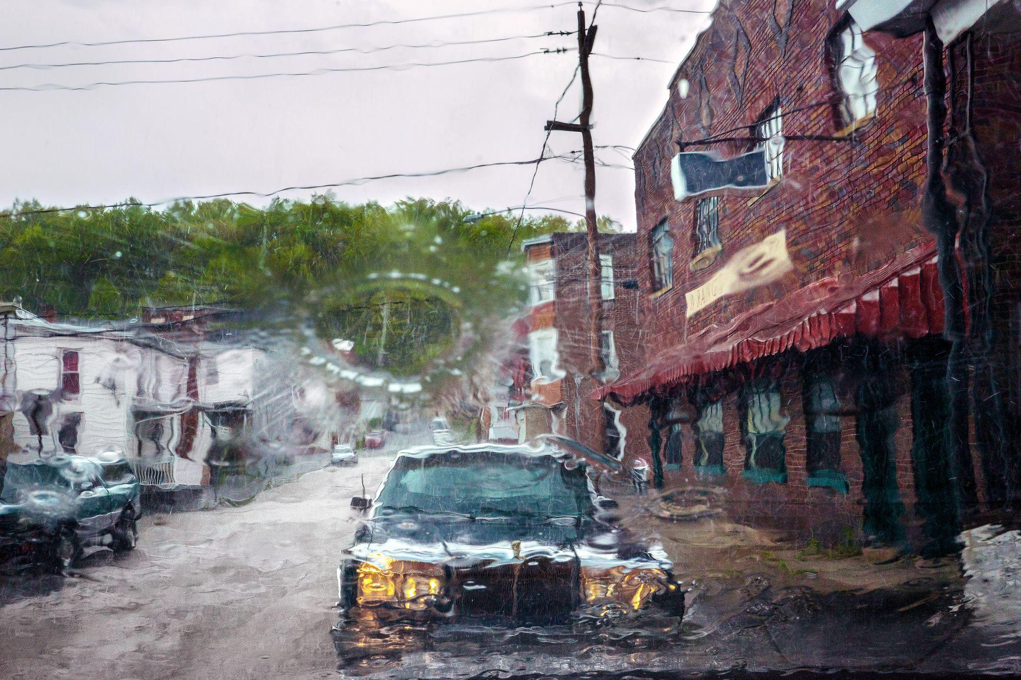 Rain Drop. Niko J. Kallianiotis