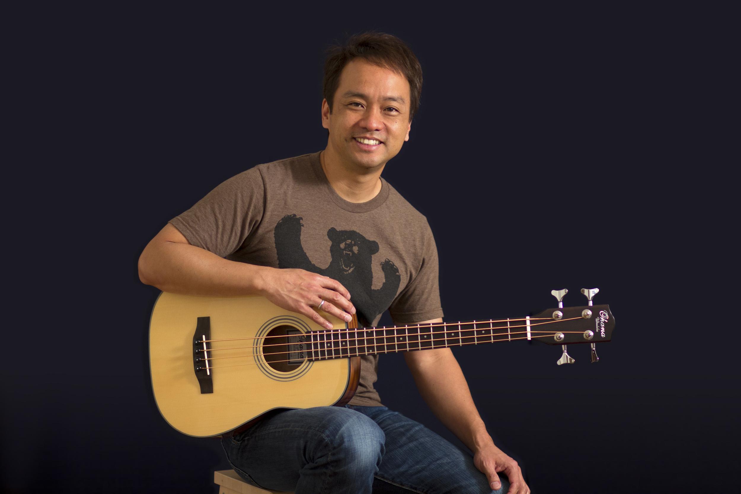 Daniel Ho with Bass ʻUkulele