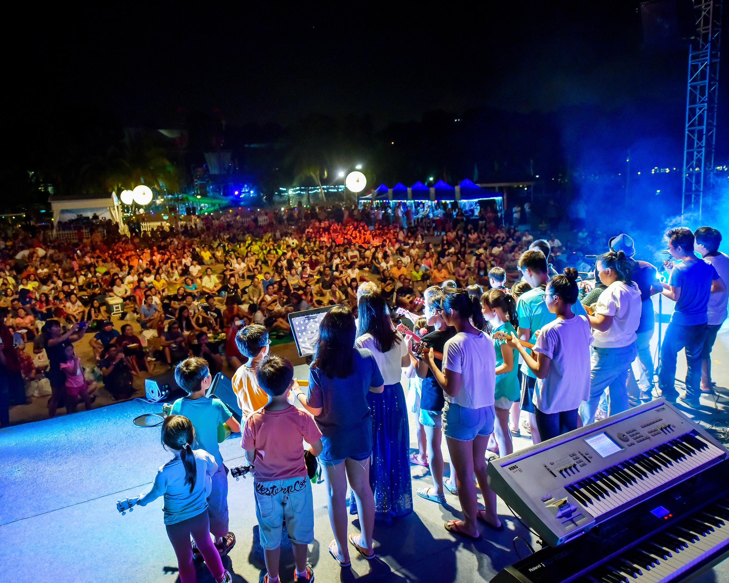 Sentosa 'Ukulele Festival, Singapore