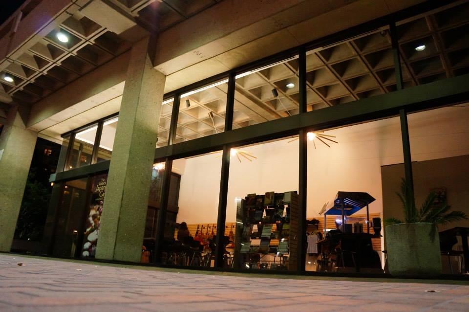 the store at night